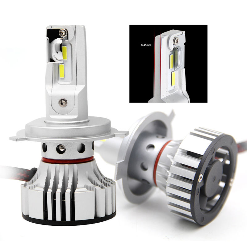 DC 12 - 24 V Led Car Headlight Bulbs , High Low Beam Led Headlights